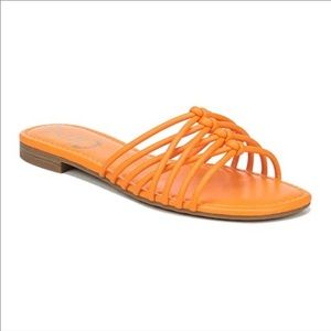 Circus by Sam Edelman neon orange Brady slides